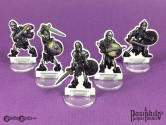 Undead Skeletons 28mm 2D Role-playing Game Miniatures
