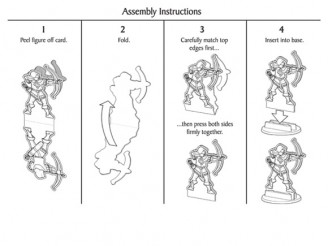 Pasiphlo's Paper Minis - Assembly Instructions