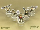 Bog Beasts 28mm 2D Role-playing Game Miniatures