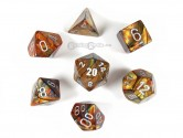 Lustrous Gold Polyhedral Dice