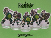 Greenhold Infantry 28mm 2D Fantasy Role-playing Game Miniatures