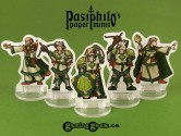Greenhold Command 28mm 2D Fantasy Role-playing Game Miniatures