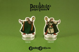 Greenhold Command 28mm RPG Miniatures (Front & Back exmample)