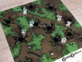 Forest Terrain Tiles Set of 9 seamlessly interchangeable 5-by-5-inch terrain tiles