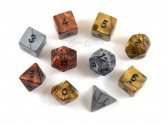 Olympic Assorted Polyhedral Dice 10-piece Polyhedral Dice Set
