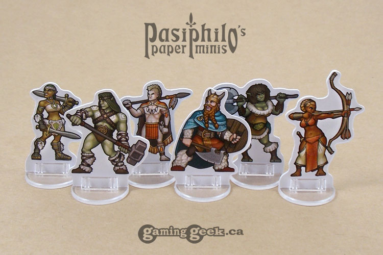 Barbarians 28mm 2D Role-playing Game Miniatures