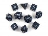 Ninja Polyhedral Dice 10-piece Polyhedral Dice Set