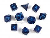 KOP09984 Cobalt Polyhedral Dice at GamingGeek.ca