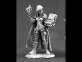Nonalla Ellinard, Elf Wizard 28mm Metal Fantasy Role-playing Game Miniature