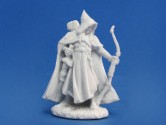 Arthrand Nightblade, Elf Ranger 28mm Scale Polymer Fantasy Role-playing Game Miniature