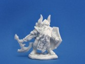 Dain Deepaxe 28mm Scale Polymer Fantasy Role-playing Game Miniature