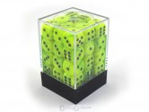 CHX27830 Bright Green w/ Black 36d6 Dice