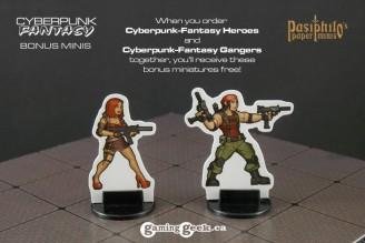 PM1014 Cyberpunk-Fantasy Bonus Minis