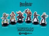 PPM1013 Cyberpunk Fantasy Heroes