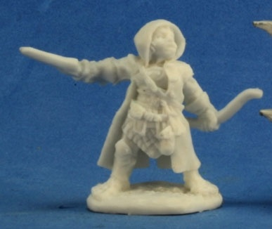 RM77218 Woody Stumpwimple, Halfling Ranger