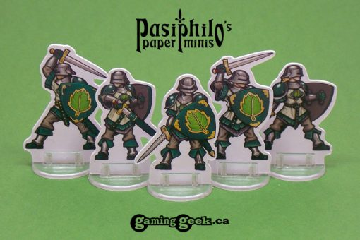Greenhold Infantry 28mm RPG Miniatures