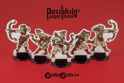 Red Clan Orc Hunters 28mm RPG Miniatures