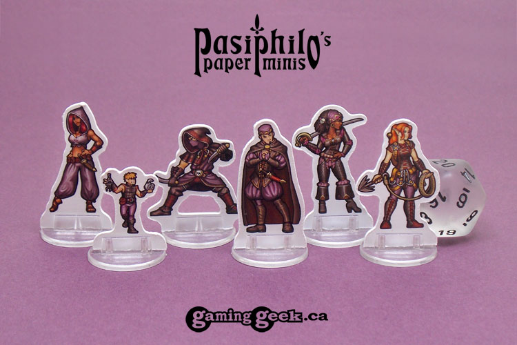 Rogues 28mm 2D Roleplaying Game Miniatures