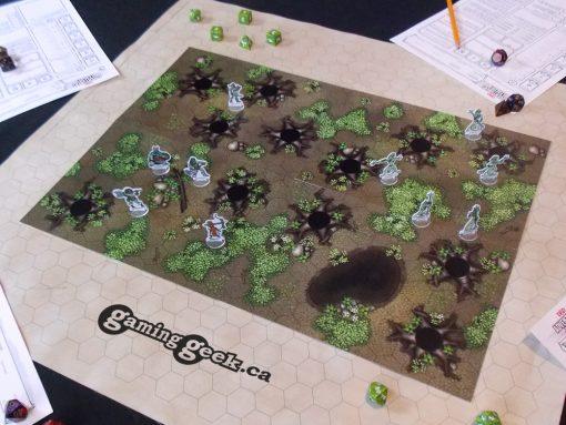 Forest Hex Grid Terrain Tiles Set #1