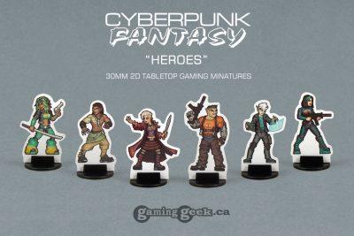 PPM1013 Cyberpunk-Fantasy Heroes