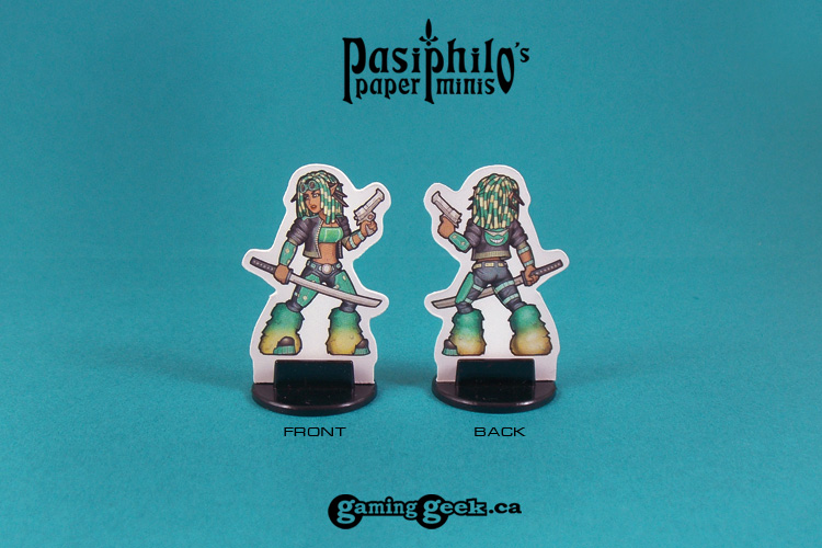 PPM1013 Cyberpunk Fantasy Heroes front and back