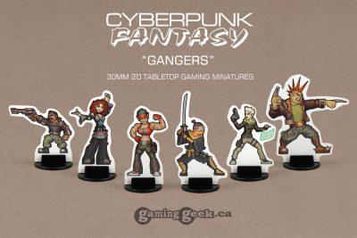 PPM1016 Cyberpunk-Fantasy Gangers