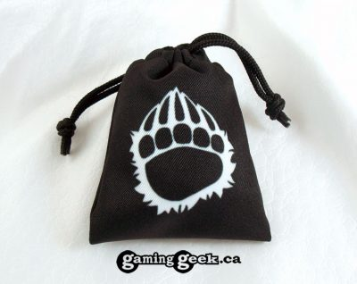 'Barbarian' Mini Drawstring Dice Bag