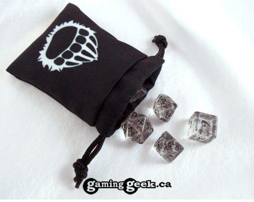 'Barbarian' Mini Drawstring Dice Bag