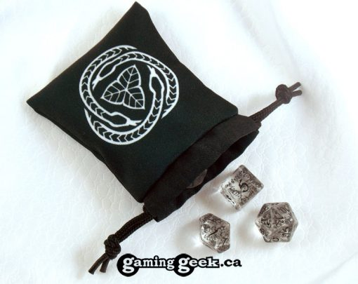 'Druid' Mini Drawstring Dice Bag