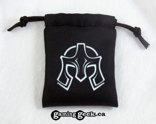 'Fighter' Mini Drawstring Dice Bag