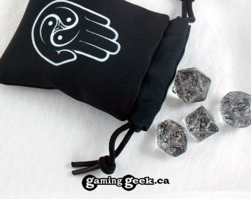 'Monk' Mini Drawstring Dice Bag