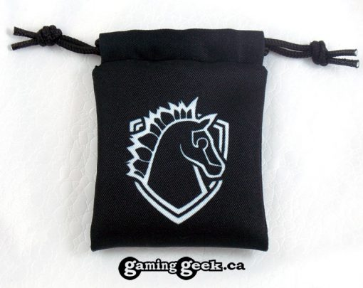 'Paladin' Mini Drawstring Dice Bag