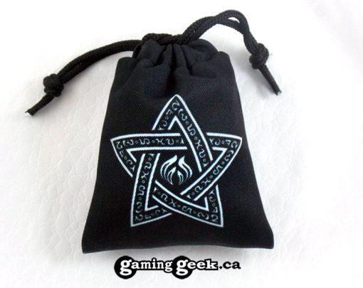 'Warlock' Mini Drawstring Dice Bag