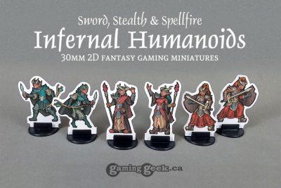 PPM1025 Infernal Humanoids