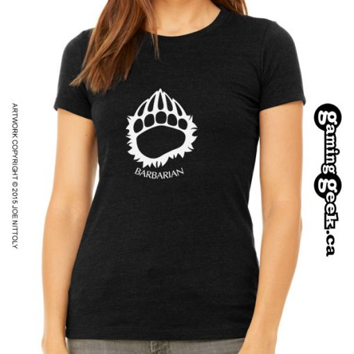 Barbarian Fantasy RPG T-Shirt, Women's