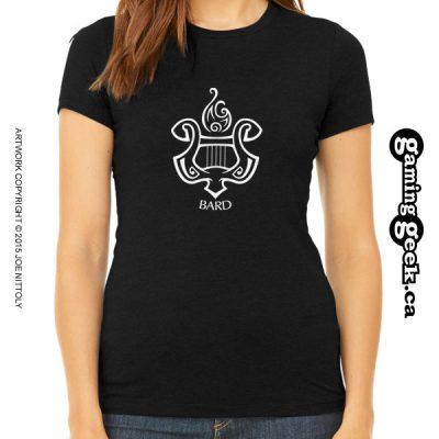 Bard Fantasy RPG T-Shirt, Women's