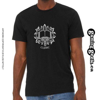 Cleric Fantasy RPG T-Shirt
