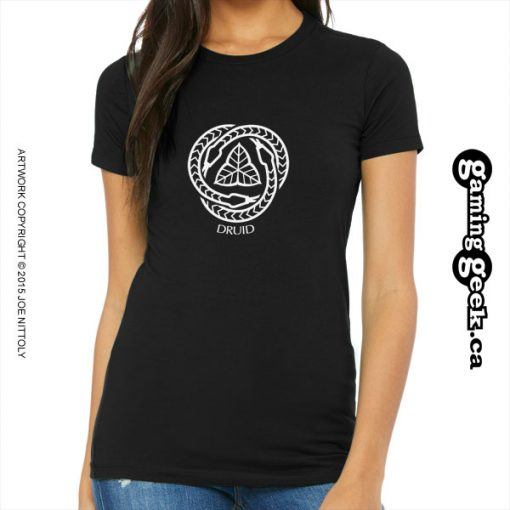 Druid Fantasy RPG T-Shirt, Women's
