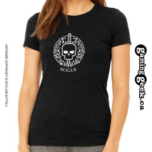 Rogue Fantasy RPG T-Shirt, Women's