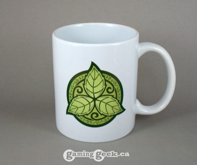 Elvish Trillium Fantasy RPG Coffee Mug